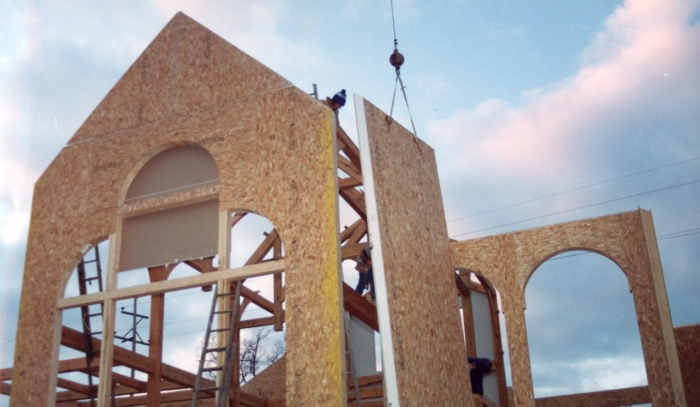 Structural Insulated Panel : Structural insulated panels